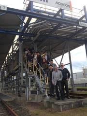 爱德康邀请了中国代表团参观德国合作牧场和爱德康工厂