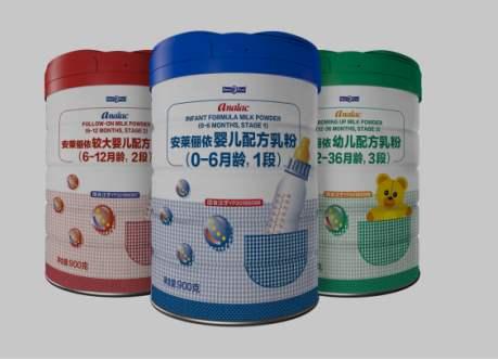 安莱俪依奶粉两度因维生素D含量与标签不